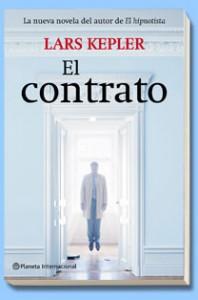 """Portada de """"El Contrato"""" por Lars Kepler"""